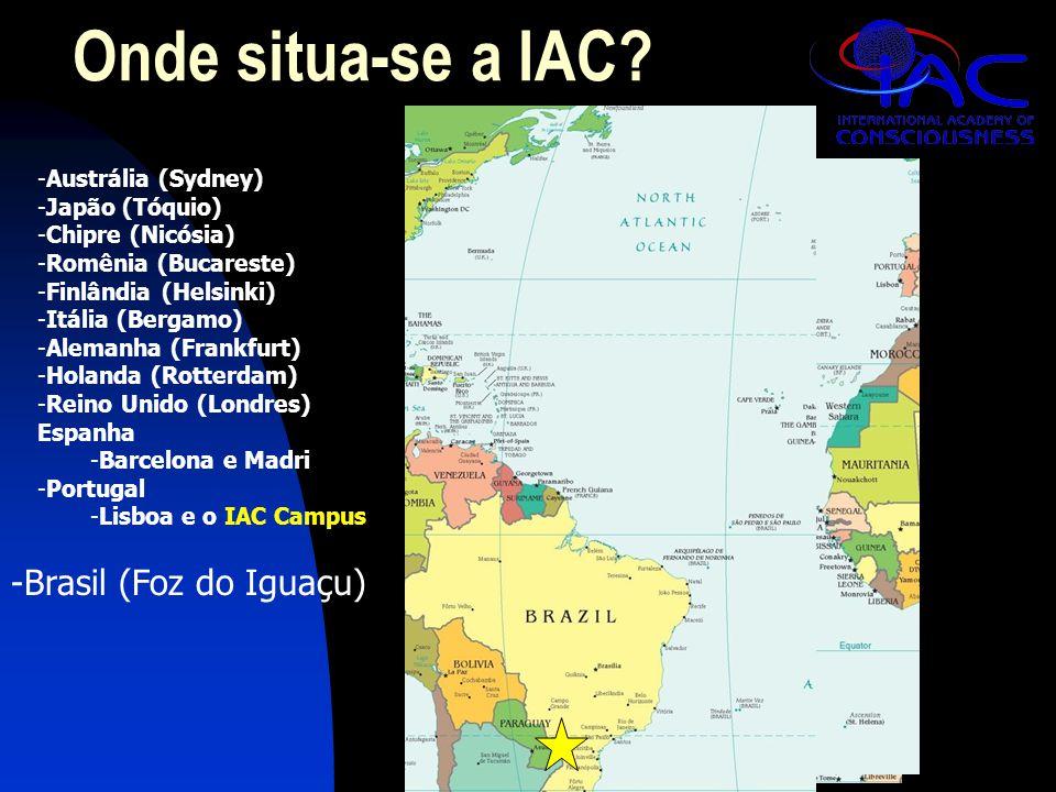 IAC em Foz  Apresentação da Austrália (Janeiro 4, 19:00)  Visite-nos na sala da IAC para mais informações  Beijos
