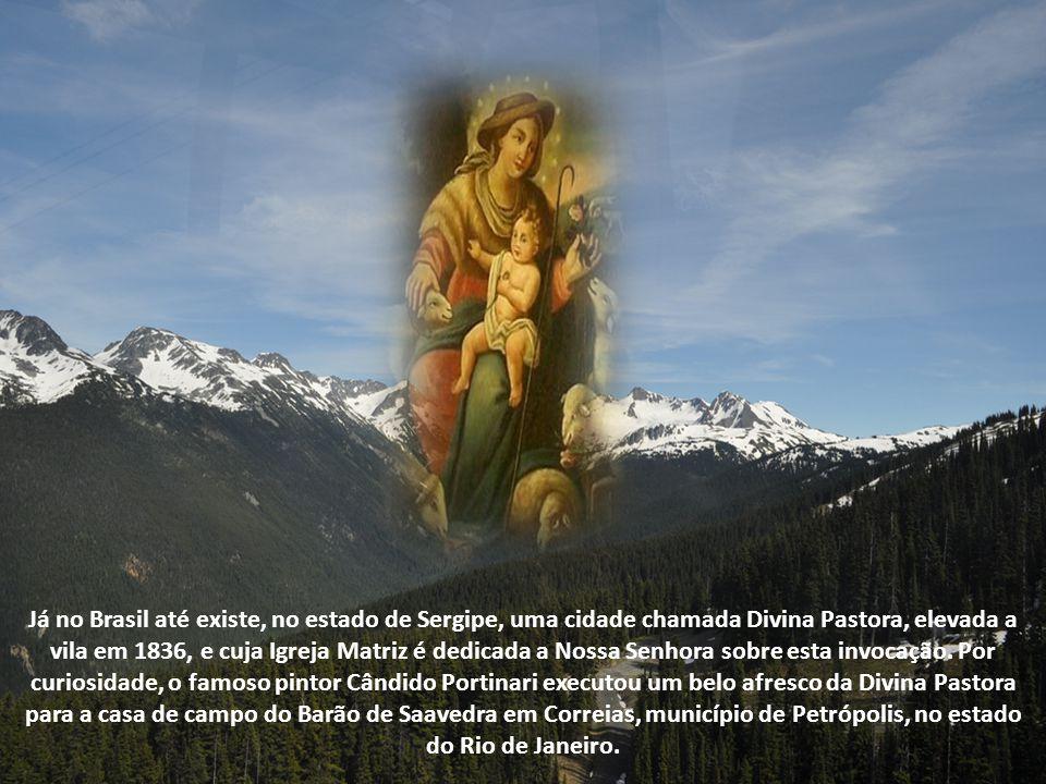 Na América Latina, o principal santuário da Divina Pastora é o da Ilha da Trindade, nas Antilhas. Este culto chegou também à Venezuela, através dos Fr