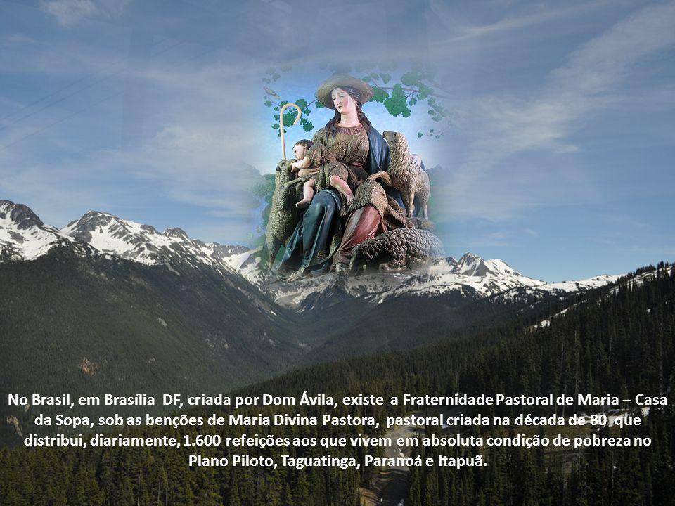 Já no Brasil até existe, no estado de Sergipe, uma cidade chamada Divina Pastora, elevada a vila em 1836, e cuja Igreja Matriz é dedicada a Nossa Senh