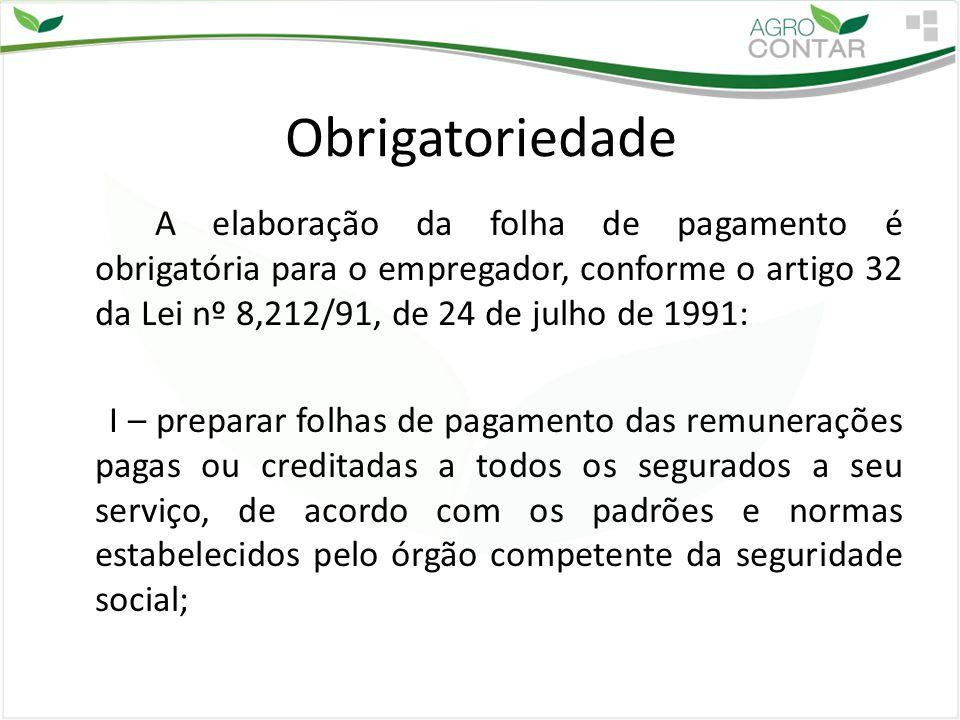 Composição da Folha de pagamento Proventos Salário Gratificações Comissões Horas Extras Adc.