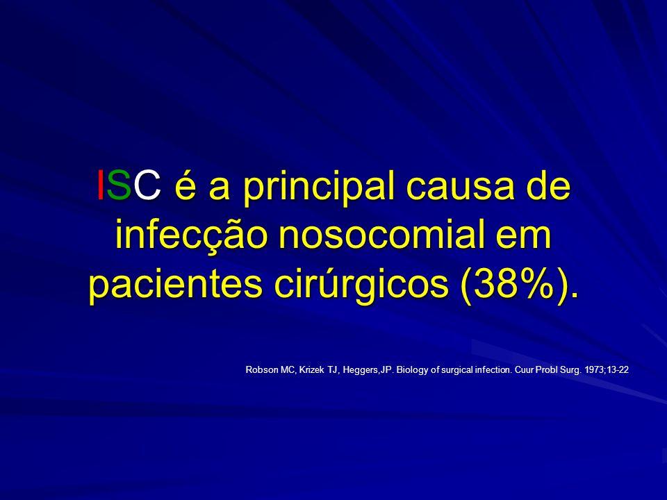 Entre os diversos fatores que interferem no aparecimento das infecções hospitalares, de acordo com o consenso de diversas entidades americanas, podem ser divididos em dois grupos: SHEA, APIC, CDC, SIS.