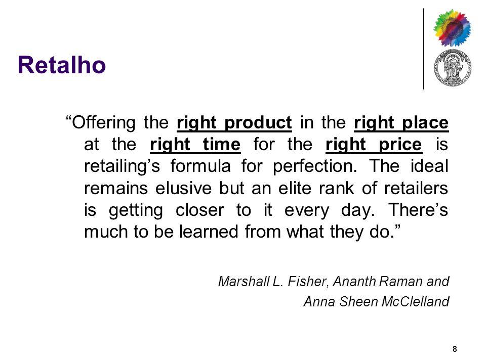 Problemas Recorrentes no Retalho Quantas vezes vamos a uma loja e descobrirmos que esta não tem o produto que pretendemos.