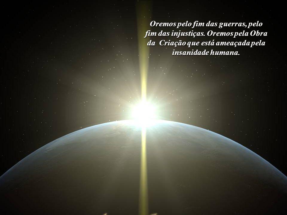Oremos por todos aqueles que desconhecem os motivos pelos quais vieram para a Terra, pois, ainda que imersos na Luz, só enxergam as som- bras e delas