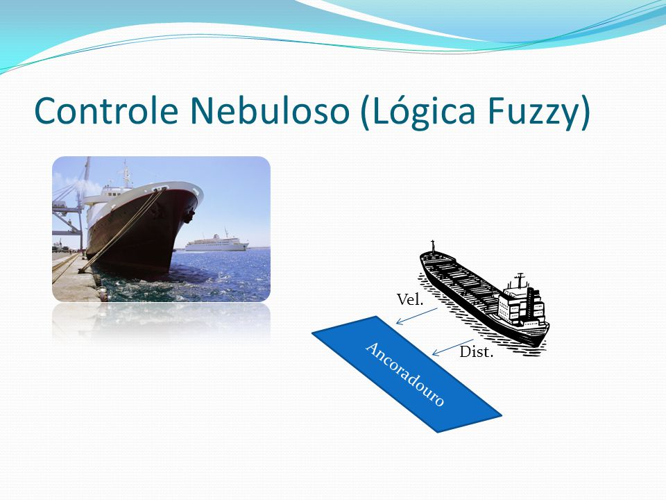 Controle Nebuloso (Lógica Fuzzy) Ancoradouro Vel. Dist.