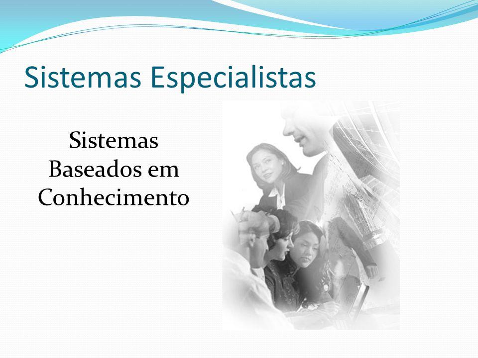 Sistemas Especialistas Sistemas Baseados em Conhecimento