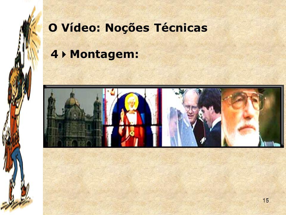 15 4  Montagem: O Vídeo: Noções Técnicas