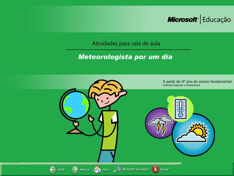 METEOROLOGISTA POR UM DIA