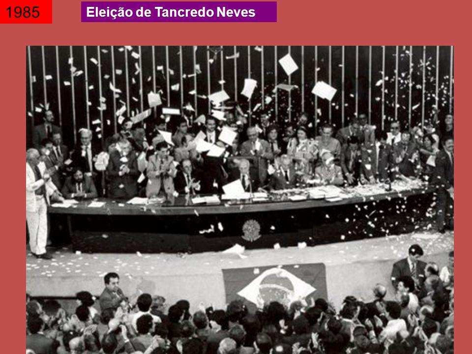 1985 Eleição de Tancredo Neves