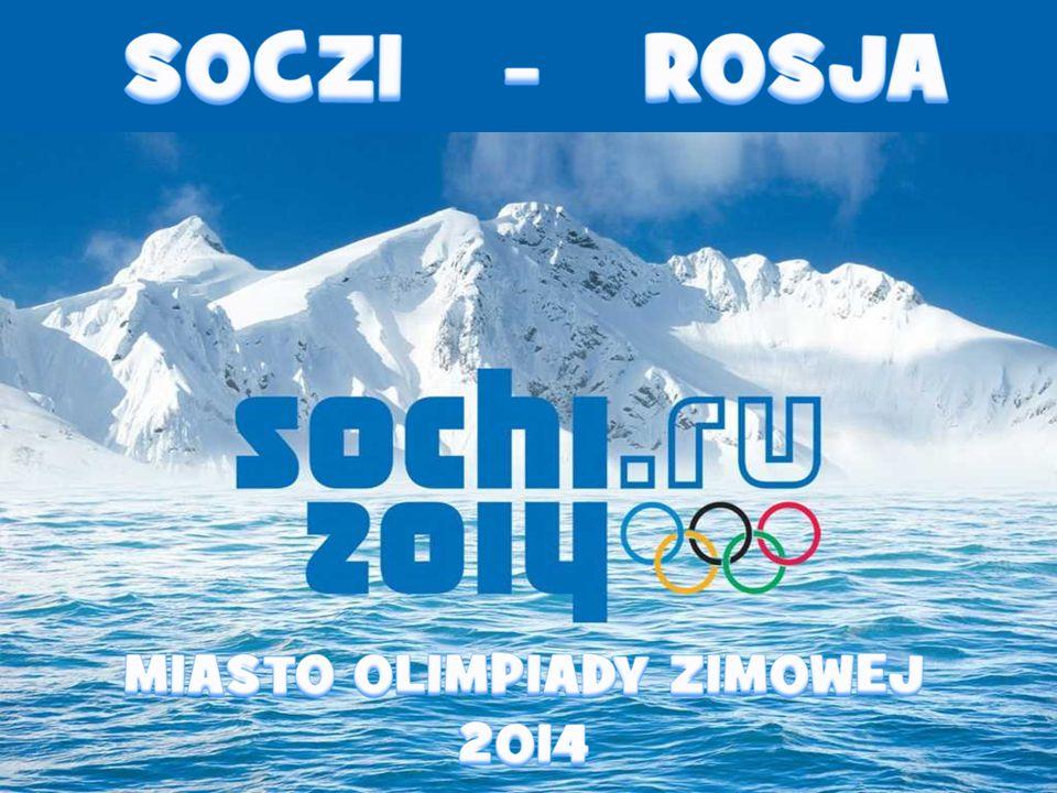 Em Sochi será realizada nas disciplinas de gelo , Aqui eles construíram os principais objetos como o Estádio Olímpico e do centro de imprensa.
