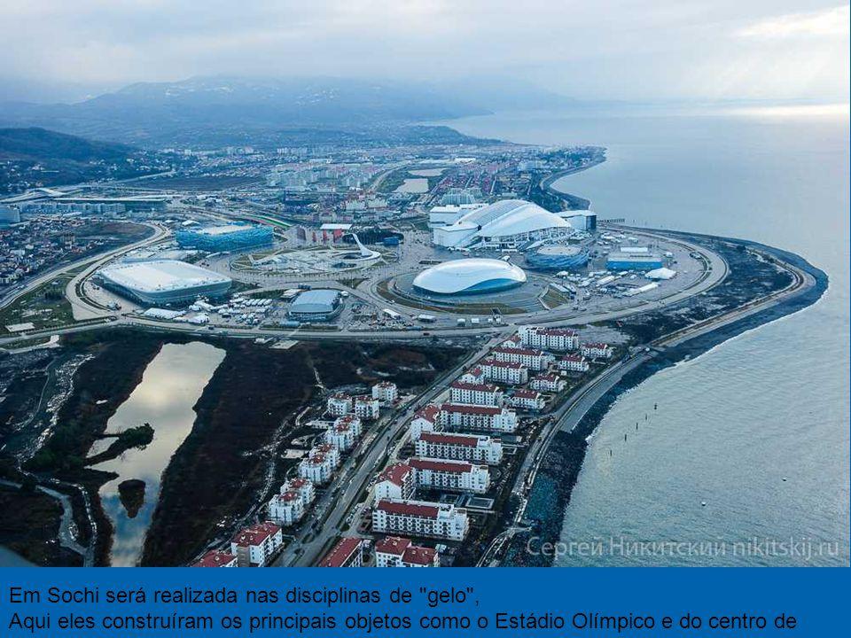 Rússia liberou para astronómica soma de reta Jogos Olímpicos de Inverno de 50 bilhões de dólares.