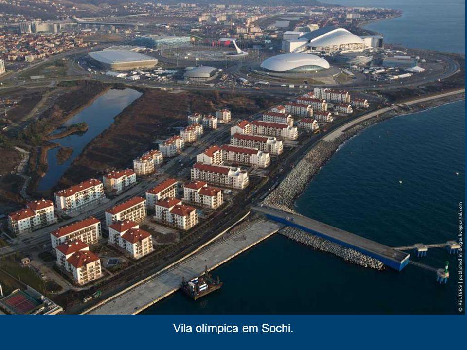Curling centro de cubo de gelo, Sochi 2014 É o menor do construído em Sochi instalações desportivas.