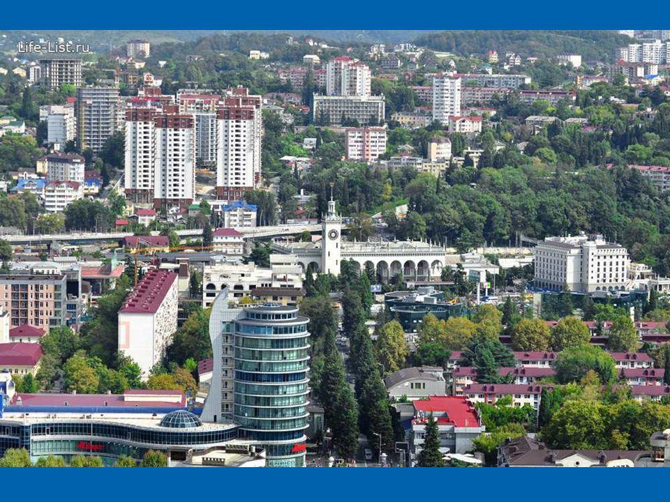 Sochi é um parque de diversões na vila olímpica