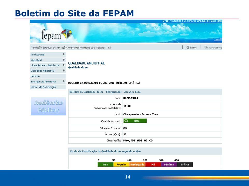 14 Boletim do Site da FEPAM