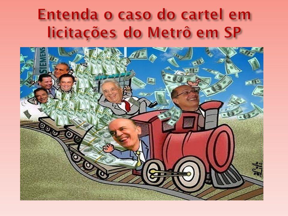  O Conselho Administrativo de Defesa Econômica (Cade) investiga uma suposta formação de cartel para licitações do Metrô de São Paulo e da Companhia Paulista de Trens Metropolitanos (CPTM).