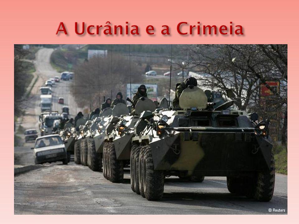  A Ucrânia é um país que resultou do esfacelamento da União Soviética  Hoje, o país vive uma crise econômica e política.