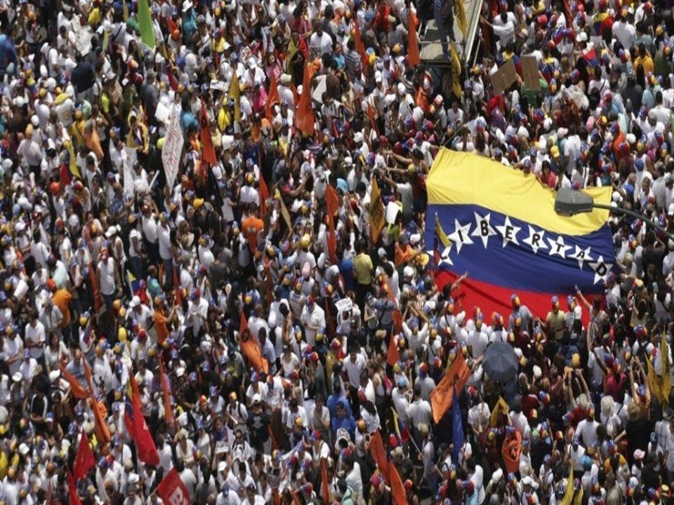  Os atuais protestos que ocorrem na Venezuela estão inseridos em um contexto mais amplo de manifestações.