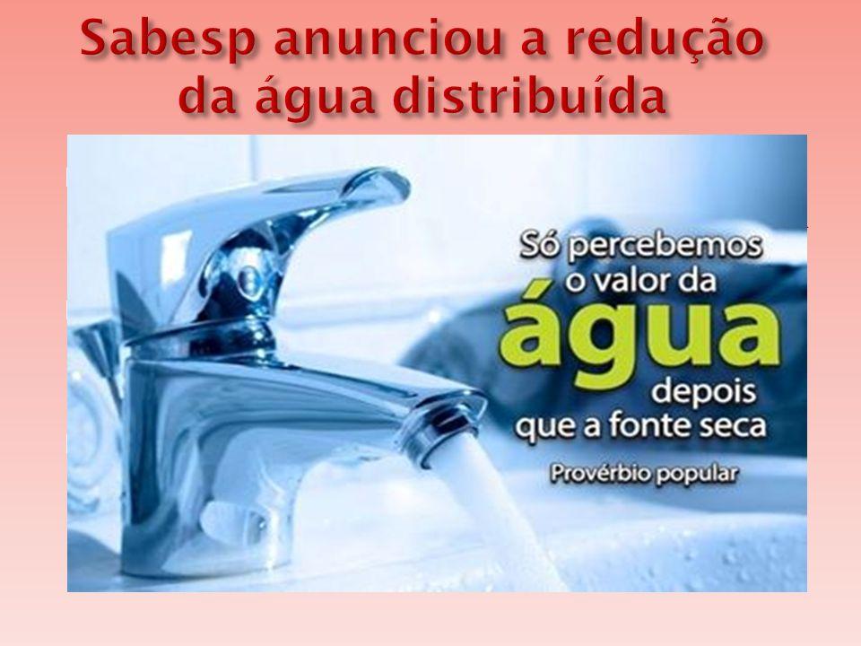  O volume de água armazenado no Sistema Cantareira registrou a pior marca histórica.