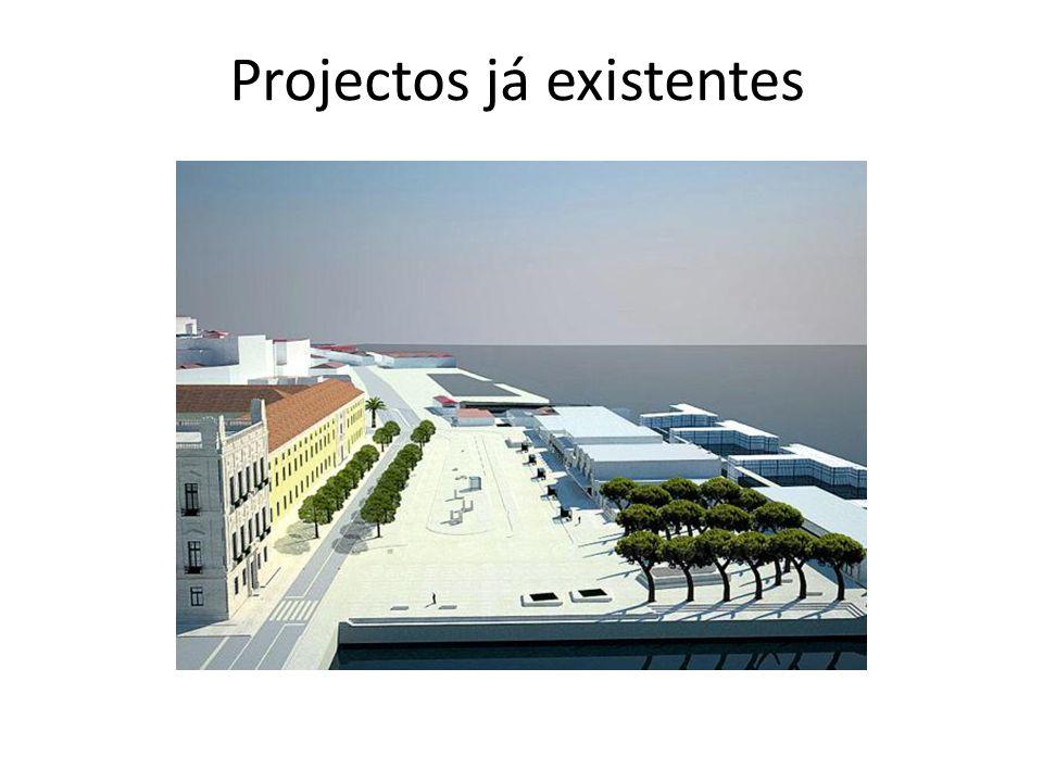 Projectos já existentes