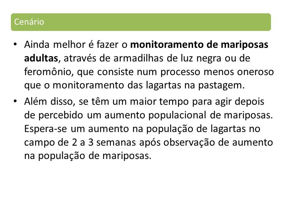 Em relação ao nível de controle, não foram encontrados na literatura brasileira estudos que definam o nível de controle destes insetos em pastagens.