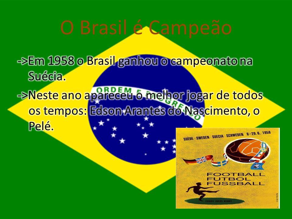O Brasil é Campeão