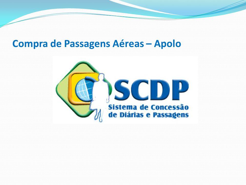 Após a emissão do bilhete (comprovante de emissão), fazer a reserva no SCDP em solicitação – passagem - reserva de passagem; Selecione a PCDP e clicar em criar reserva ; Coloque os dados exatamente conforme o bilhete; O código da reserva é o localizador.