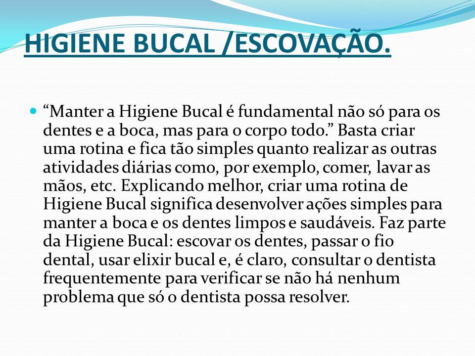 É muito importante cuidar da Higiene Bucal desde o nascimento da criança.
