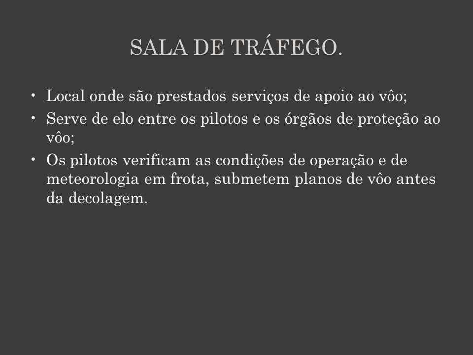 SALA DE TRÁFEGO.