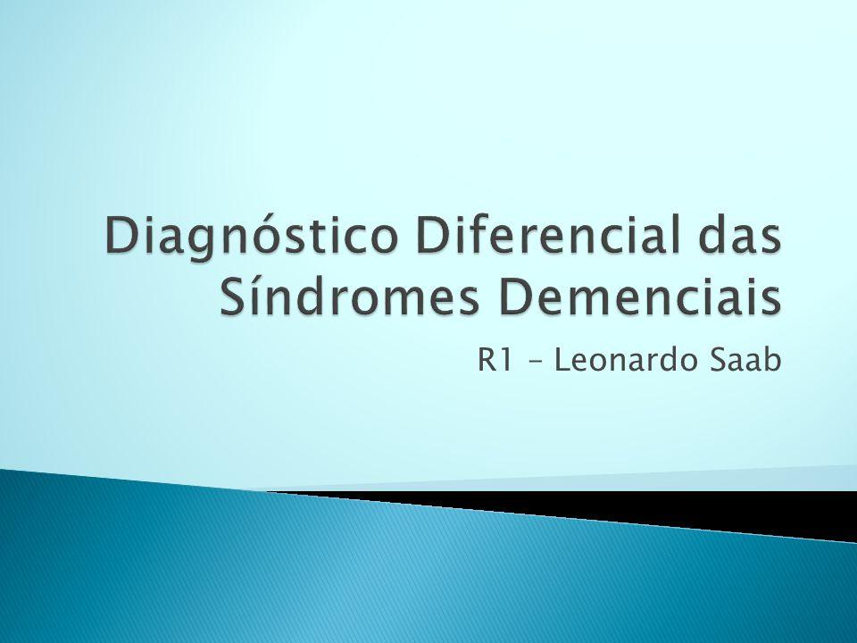  Estágio intermediário entre o envelhecimento normal e a demência.