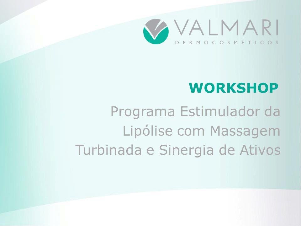 WORKSHOP Programa Estimulador da Lipólise com Massagem Turbinada e Sinergia de Ativos