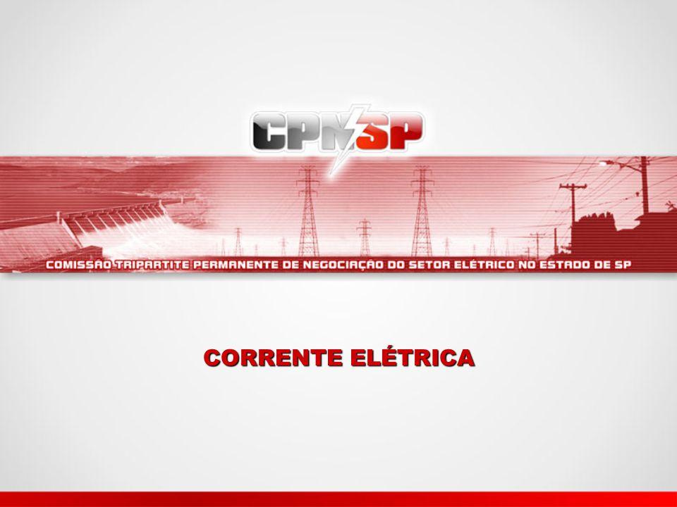 Circuito elétrico Para obtermos um circuito elétrico, são necessários três elementos: