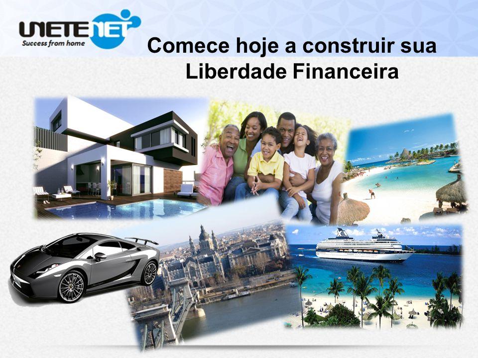 Comece hoje a construir sua Liberdade Financeira