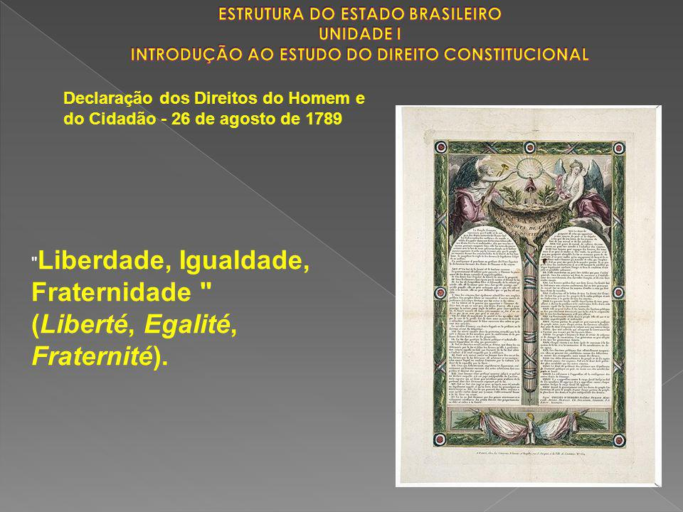Declaração dos Direitos do Homem e do Cidadão - 26 de agosto de 1789