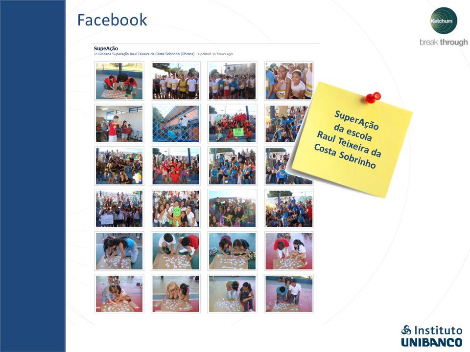 Facebook SuperAção da escola Governador Walter Jobim