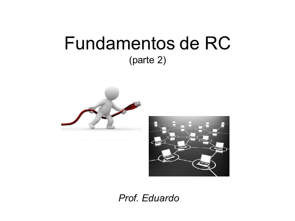 Fundamentos de RC (parte 2) Prof. Eduardo