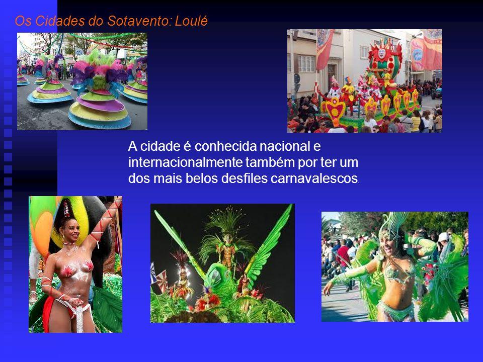 A cidade é conhecida nacional e internacionalmente também por ter um dos mais belos desfiles carnavalescos.