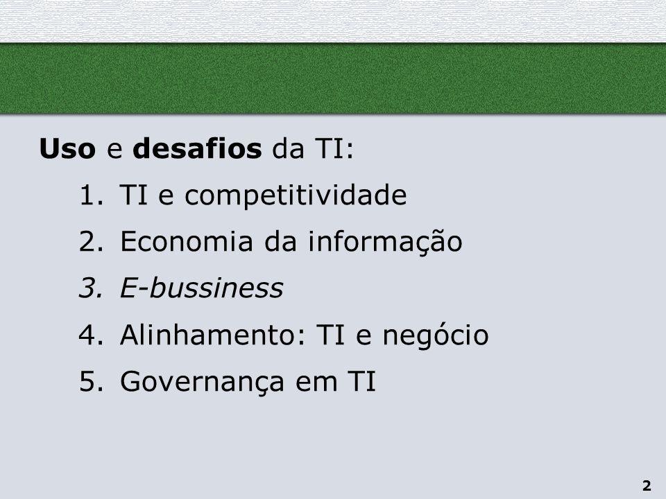 3 TI e competitividade