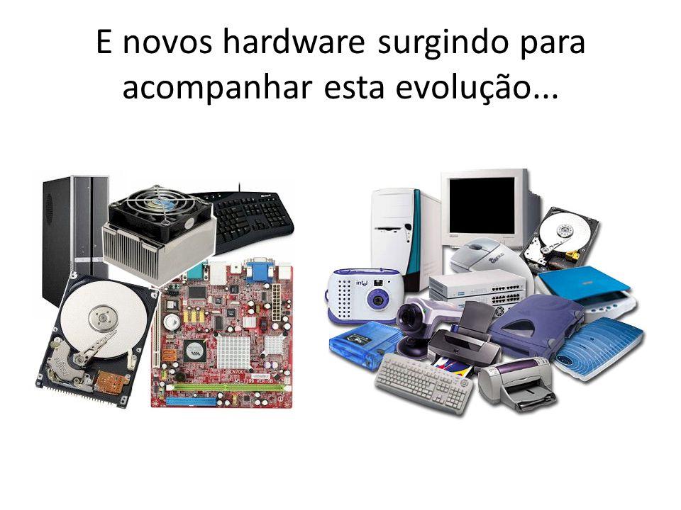 E novos hardware surgindo para acompanhar esta evolução...