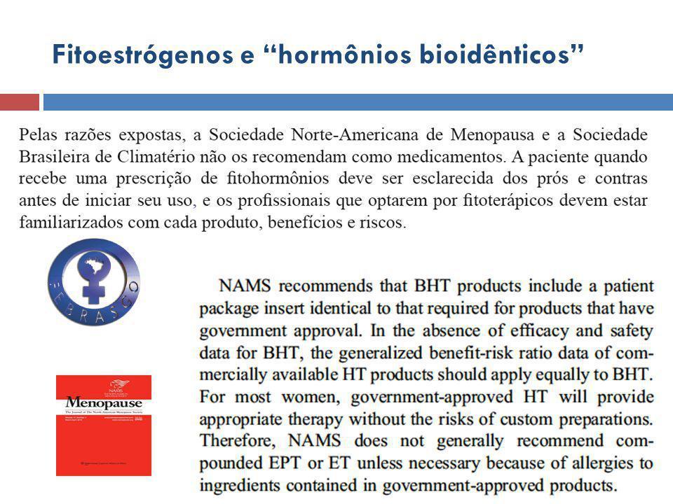 Fitoestrógenos e hormônios bioidênticos