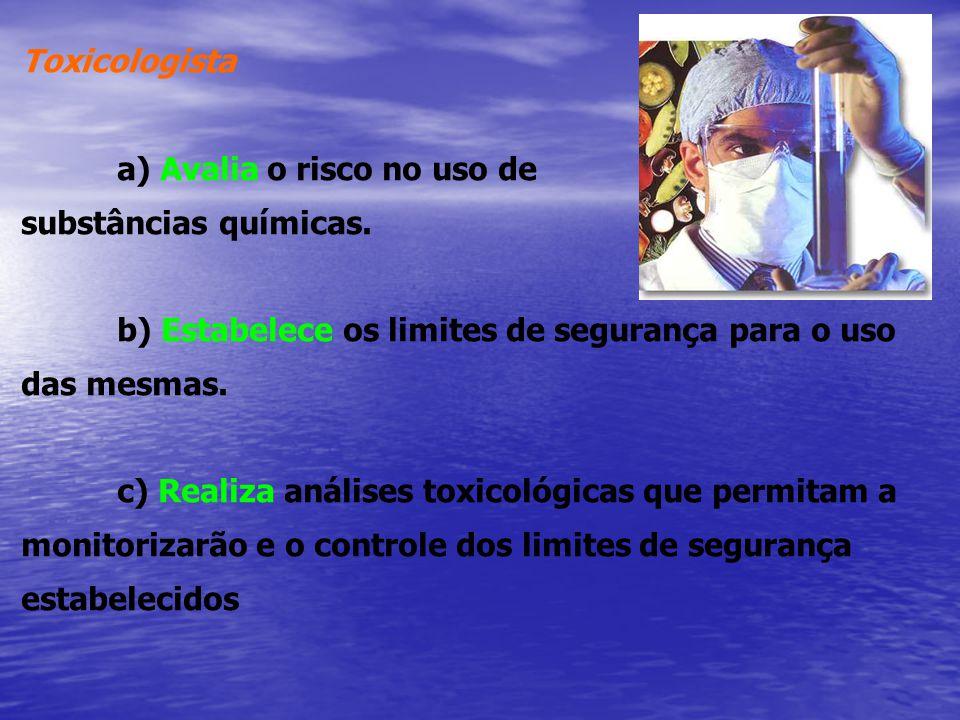 OBJETIVOS DA TOXICOLOGIA: PREVENIR DIAGNOSTICAR E TRATAR