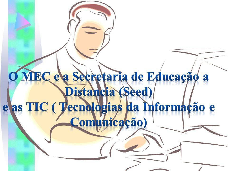 Os aspectos positivos da TIC na EAD  Contribuem para a modificação da forma de as pessoas se relacionarem e de construírem conhecimentos.