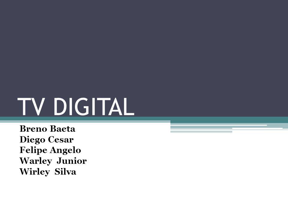 O que é TV digital .