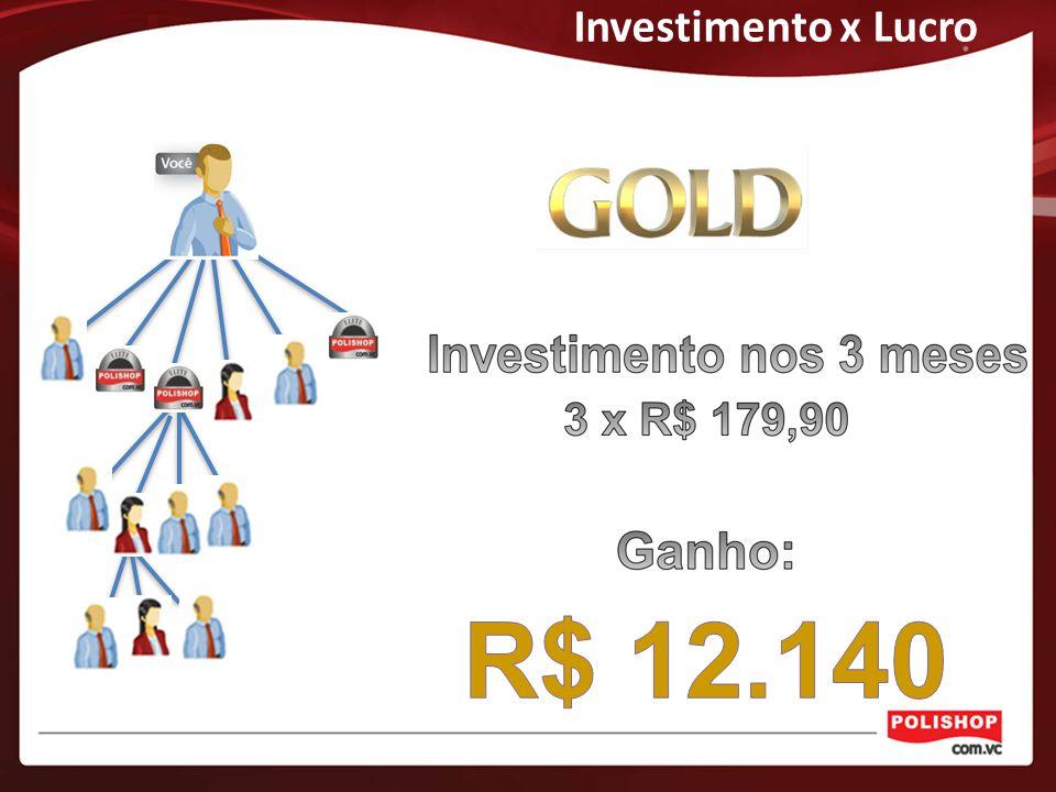 Investimento x Lucro