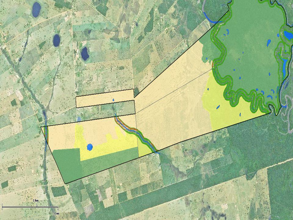 BORDAS DOS TABULEIROS OU CHAPADAS 100 metros contados em linha horizontal a partir da ruptura da formação geológica Art.