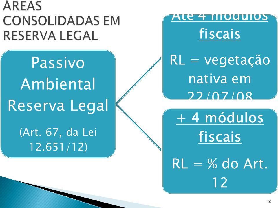 56 Passivo Ambiental Reserva Legal (Art.