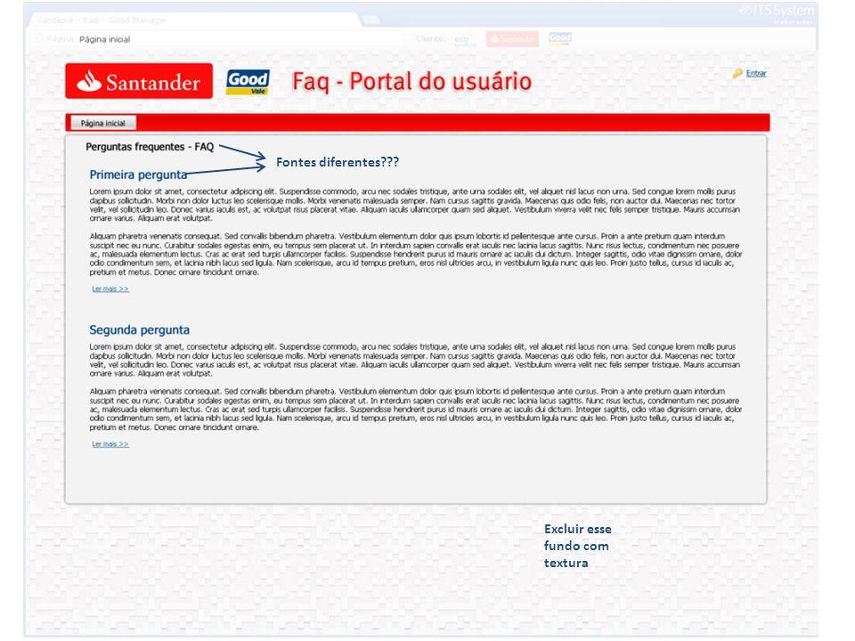 Corrigir logo Santander. Incluir logo Ecobenefícios na tela 4020.3535 Alterar logo