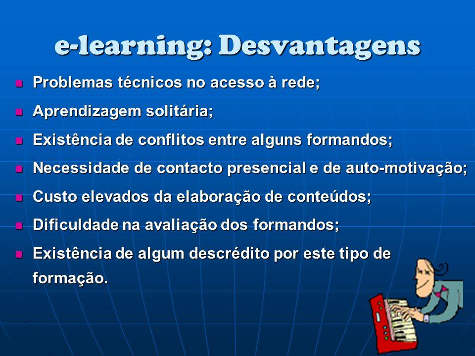 Problemas técnicos no acesso à rede; Problemas técnicos no acesso à rede; Aprendizagem solitária; Aprendizagem solitária; Existência de conflitos entr