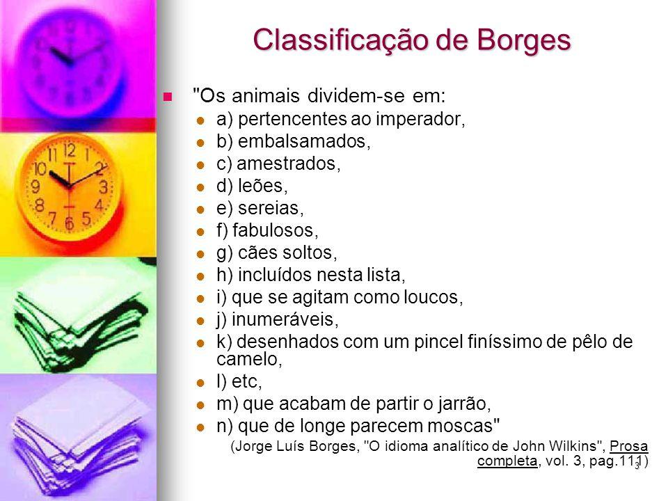 Classificação de Borges