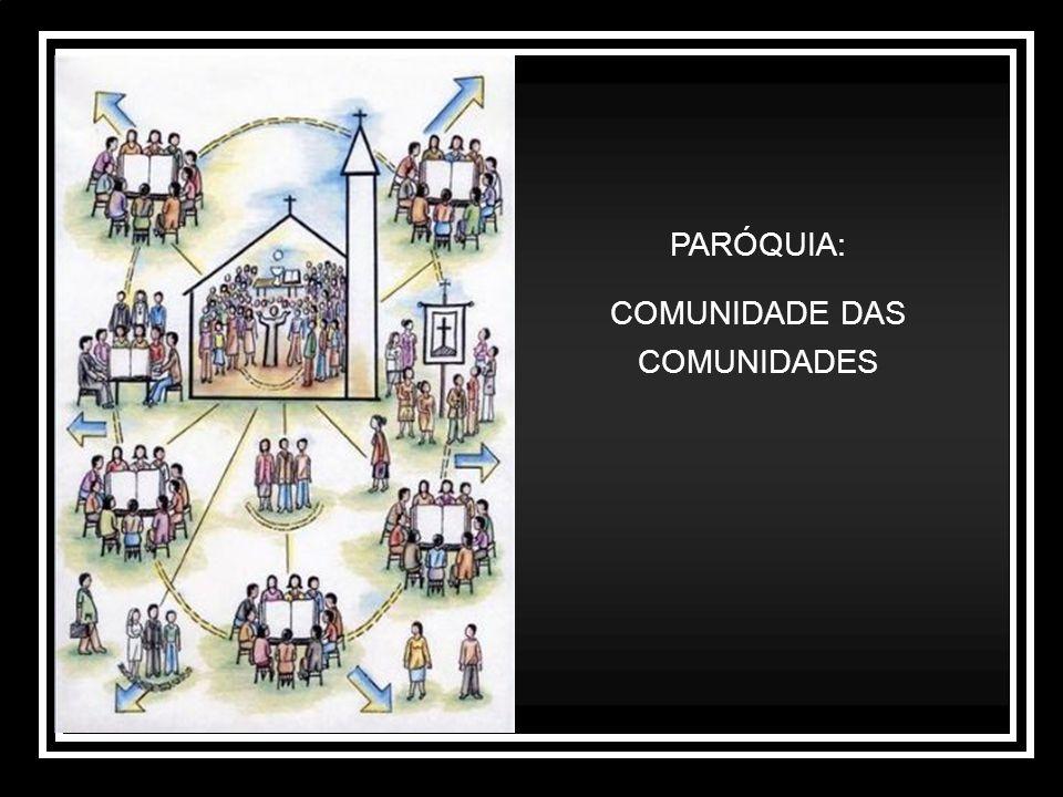 PARÓQUIA: COMUNIDADE DAS COMUNIDADES