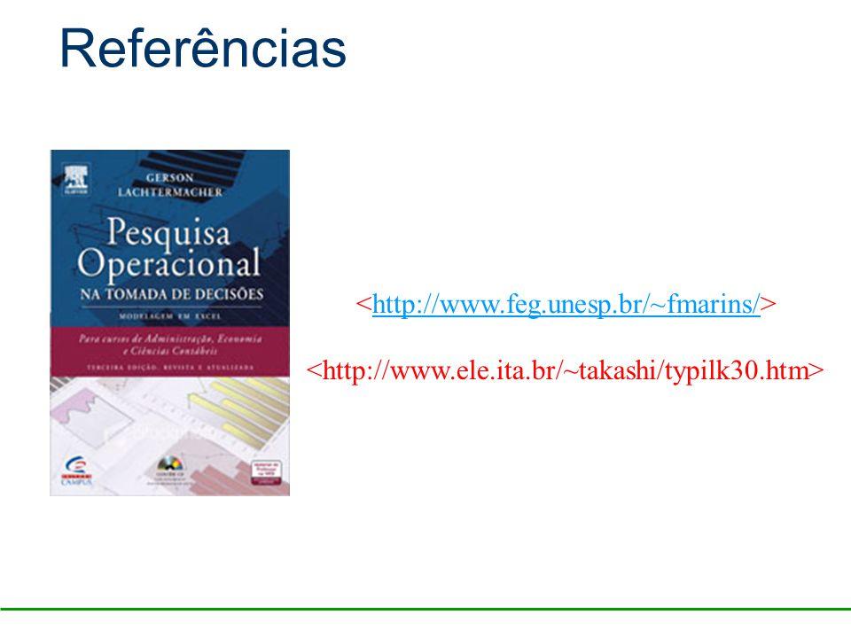 http://www.feg.unesp.br/~fmarins/ Referências