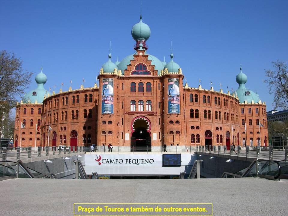Praça de Touros e também de outros eventos.